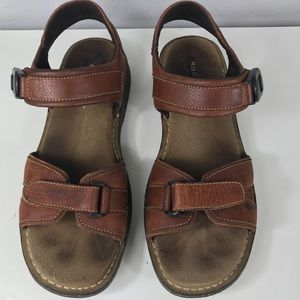 Rockport Men's Leather Sandals Size 12